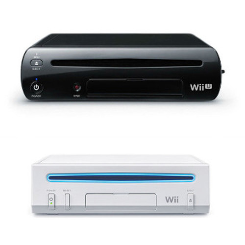 image of Wii U console